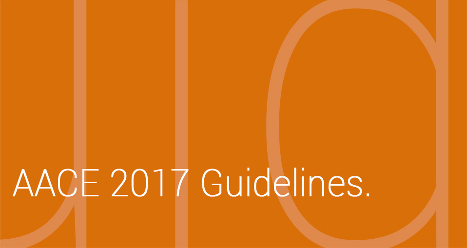 AACE 2017 Guidelines.