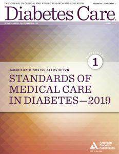 Nuevas recomendaciones de la Asociación Americana de Diabetes ADA 2019
