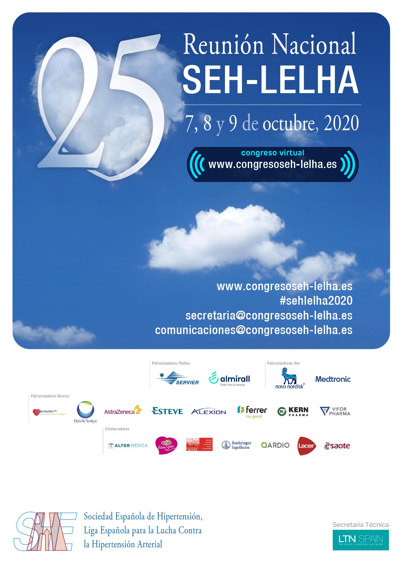 25ª Reunión Nacional SEH-LELHA 2020